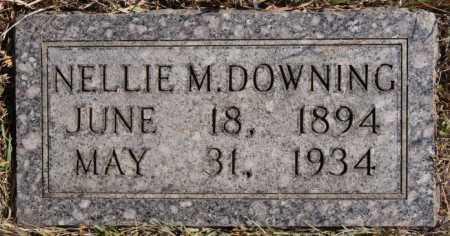 DOWNING, NELLIE M - Turner County, South Dakota | NELLIE M DOWNING - South Dakota Gravestone Photos