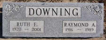 DOWNING, RUTH E - Turner County, South Dakota | RUTH E DOWNING - South Dakota Gravestone Photos