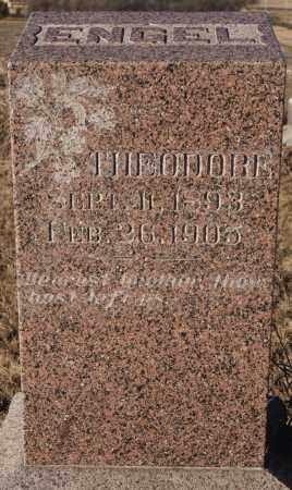 ENGEL, THEODORE - Turner County, South Dakota | THEODORE ENGEL - South Dakota Gravestone Photos