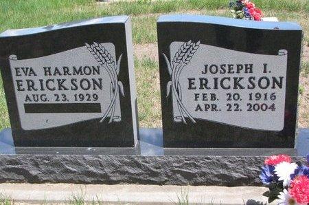 ERICKSON, EVA - Turner County, South Dakota | EVA ERICKSON - South Dakota Gravestone Photos