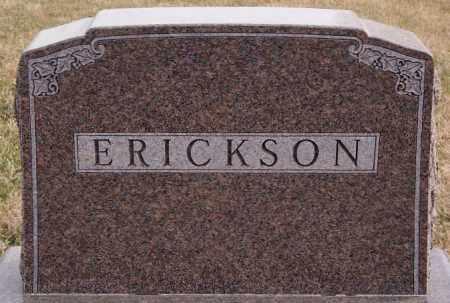 ERICKSON, FAMILY MARKER - Turner County, South Dakota | FAMILY MARKER ERICKSON - South Dakota Gravestone Photos