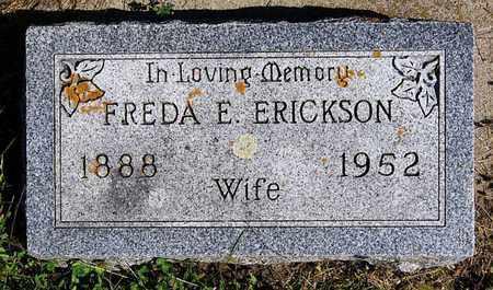 ERICKSON, FREDA E - Turner County, South Dakota | FREDA E ERICKSON - South Dakota Gravestone Photos
