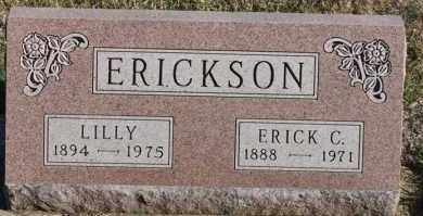 ERICKSON, ERICK C - Turner County, South Dakota | ERICK C ERICKSON - South Dakota Gravestone Photos