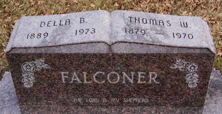 FALCONER, DELLA B - Turner County, South Dakota | DELLA B FALCONER - South Dakota Gravestone Photos