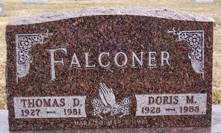 FALCONER, DORIS M - Turner County, South Dakota | DORIS M FALCONER - South Dakota Gravestone Photos