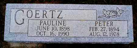 GOERTZ, PETER - Turner County, South Dakota | PETER GOERTZ - South Dakota Gravestone Photos