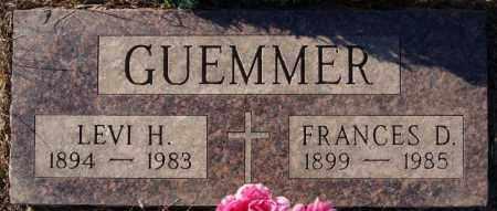 GUEMMER, FRANCES D - Turner County, South Dakota   FRANCES D GUEMMER - South Dakota Gravestone Photos