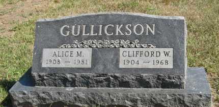 GULLICKSON, ALICE M. - Turner County, South Dakota | ALICE M. GULLICKSON - South Dakota Gravestone Photos