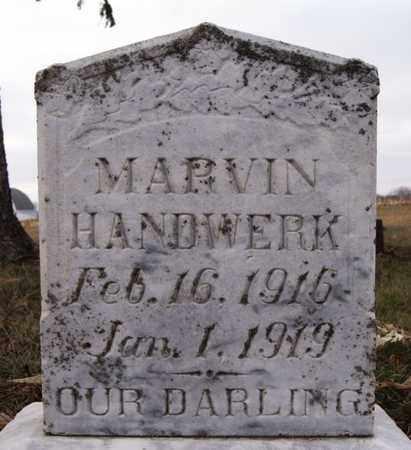 HANDWERK, MARVIN - Turner County, South Dakota   MARVIN HANDWERK - South Dakota Gravestone Photos