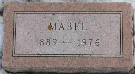 HANSEN, MABEL (FOOTSTONE) - Turner County, South Dakota | MABEL (FOOTSTONE) HANSEN - South Dakota Gravestone Photos