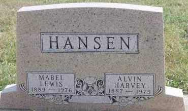 HANSEN, MABEL LEWIS - Turner County, South Dakota | MABEL LEWIS HANSEN - South Dakota Gravestone Photos