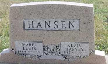 HANSEN, ALVIN HARVEY - Turner County, South Dakota | ALVIN HARVEY HANSEN - South Dakota Gravestone Photos