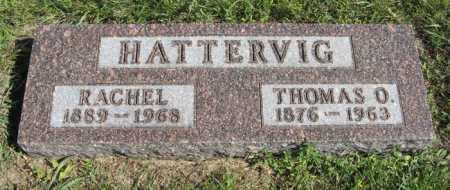 HATTERVIG, THOMAS O. - Turner County, South Dakota | THOMAS O. HATTERVIG - South Dakota Gravestone Photos