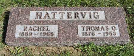 HATTERVIG, RACHEL - Turner County, South Dakota | RACHEL HATTERVIG - South Dakota Gravestone Photos