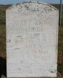 HEIRIGS, MARY ANNA - Turner County, South Dakota | MARY ANNA HEIRIGS - South Dakota Gravestone Photos