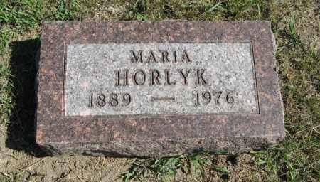 HORLYK, MARIA - Turner County, South Dakota | MARIA HORLYK - South Dakota Gravestone Photos