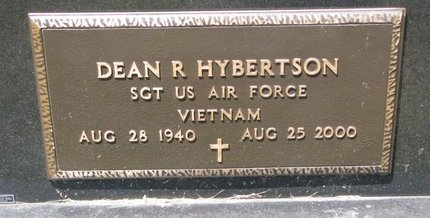 HYBERTSON, DEAN R. (MILITARY) - Turner County, South Dakota | DEAN R. (MILITARY) HYBERTSON - South Dakota Gravestone Photos