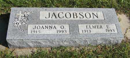JACOBSON, ELMER E. - Turner County, South Dakota | ELMER E. JACOBSON - South Dakota Gravestone Photos