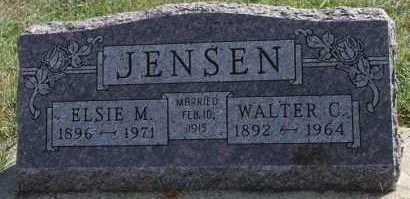 JENSEN, ELSIE M - Turner County, South Dakota | ELSIE M JENSEN - South Dakota Gravestone Photos