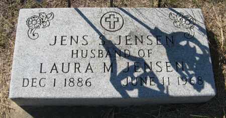 JENSEN, JENS S. - Turner County, South Dakota   JENS S. JENSEN - South Dakota Gravestone Photos