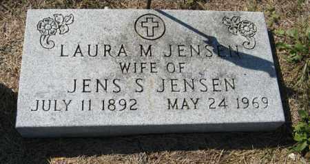 JENSEN, LAURA M. - Turner County, South Dakota | LAURA M. JENSEN - South Dakota Gravestone Photos