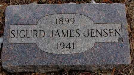JENSEN, SIGURD JAMES - Turner County, South Dakota   SIGURD JAMES JENSEN - South Dakota Gravestone Photos