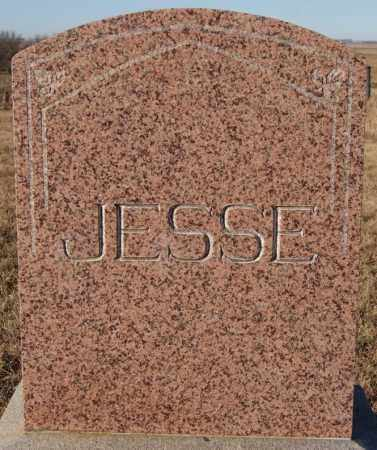 JESSE, FAMILY MARKER - Turner County, South Dakota | FAMILY MARKER JESSE - South Dakota Gravestone Photos