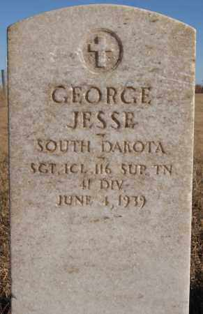 JESSE, GEORGE (MILITARY) - Turner County, South Dakota | GEORGE (MILITARY) JESSE - South Dakota Gravestone Photos