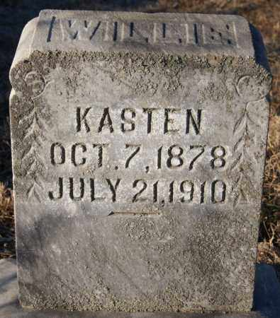KASTEN, WILLIE - Turner County, South Dakota | WILLIE KASTEN - South Dakota Gravestone Photos