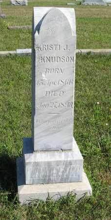 KNUDSON, KRISTI J. - Turner County, South Dakota | KRISTI J. KNUDSON - South Dakota Gravestone Photos