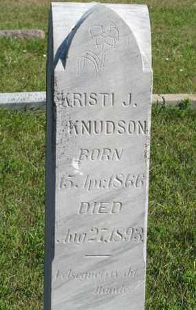 KNUDSON, KRISTI J. (CLOSEUP) - Turner County, South Dakota | KRISTI J. (CLOSEUP) KNUDSON - South Dakota Gravestone Photos