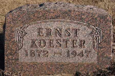 KOESTER, ERNST - Turner County, South Dakota | ERNST KOESTER - South Dakota Gravestone Photos