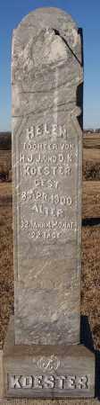 KOESTER, HELEN - Turner County, South Dakota | HELEN KOESTER - South Dakota Gravestone Photos