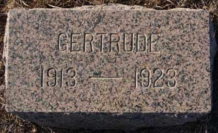 KRAEMER, GERTRUDE - Turner County, South Dakota | GERTRUDE KRAEMER - South Dakota Gravestone Photos