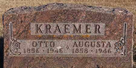 KRAEMER, AUGUSTA - Turner County, South Dakota   AUGUSTA KRAEMER - South Dakota Gravestone Photos