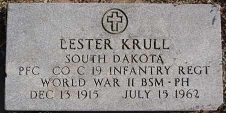 KRULL, LESTER - Turner County, South Dakota | LESTER KRULL - South Dakota Gravestone Photos