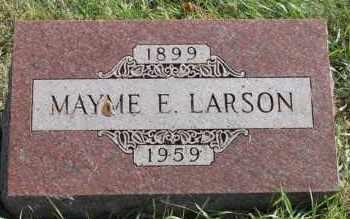 LARSON, MAYME E - Turner County, South Dakota   MAYME E LARSON - South Dakota Gravestone Photos