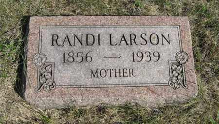 LARSON, RANDI - Turner County, South Dakota | RANDI LARSON - South Dakota Gravestone Photos