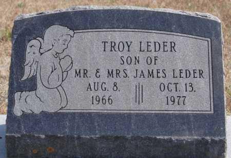 LEDER, TROY - Turner County, South Dakota | TROY LEDER - South Dakota Gravestone Photos