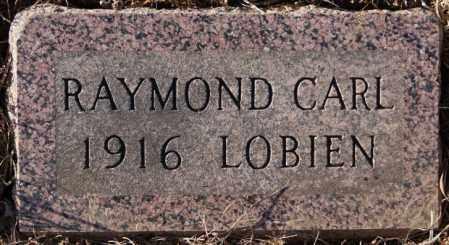 LOBIEN, RAYMOND CARL - Turner County, South Dakota   RAYMOND CARL LOBIEN - South Dakota Gravestone Photos