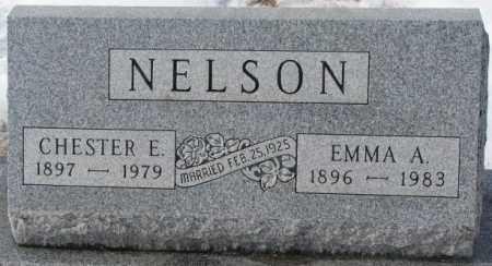 NELSON, CHESTER E. - Turner County, South Dakota | CHESTER E. NELSON - South Dakota Gravestone Photos