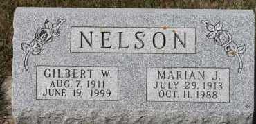 NELSON, MARIAN J - Turner County, South Dakota   MARIAN J NELSON - South Dakota Gravestone Photos