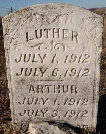 OBERHEN, LUTHER - Turner County, South Dakota | LUTHER OBERHEN - South Dakota Gravestone Photos