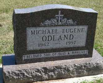 ODLAND, MICHAEL EUGENE - Turner County, South Dakota | MICHAEL EUGENE ODLAND - South Dakota Gravestone Photos