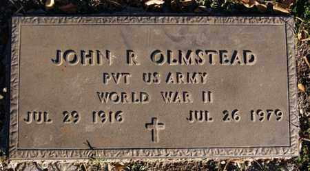 OLMSTEAD, JOHN R (WWII) - Turner County, South Dakota | JOHN R (WWII) OLMSTEAD - South Dakota Gravestone Photos