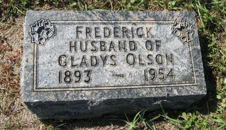 OLSON, FREDERICK - Turner County, South Dakota | FREDERICK OLSON - South Dakota Gravestone Photos