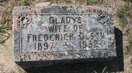OLSON, GLADYS - Turner County, South Dakota   GLADYS OLSON - South Dakota Gravestone Photos