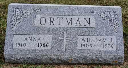 ORTMAN, ANNA - Turner County, South Dakota | ANNA ORTMAN - South Dakota Gravestone Photos