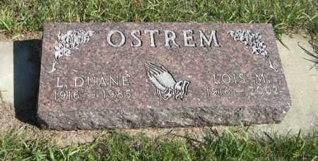 OSTREM, LOIS M. - Turner County, South Dakota | LOIS M. OSTREM - South Dakota Gravestone Photos