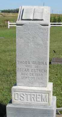 OSTREM, THORA GURINA - Turner County, South Dakota | THORA GURINA OSTREM - South Dakota Gravestone Photos